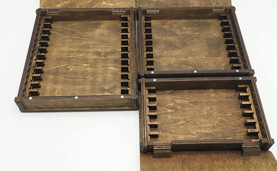 Plywood Storage Case for Edge Pro Stones For 9 Stones