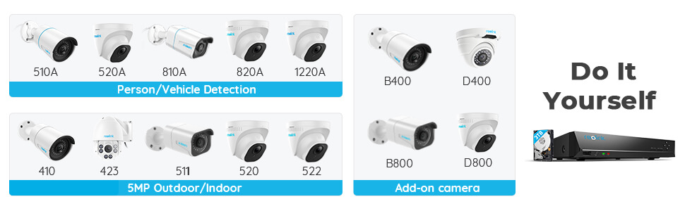 Work with Reolink Cameras