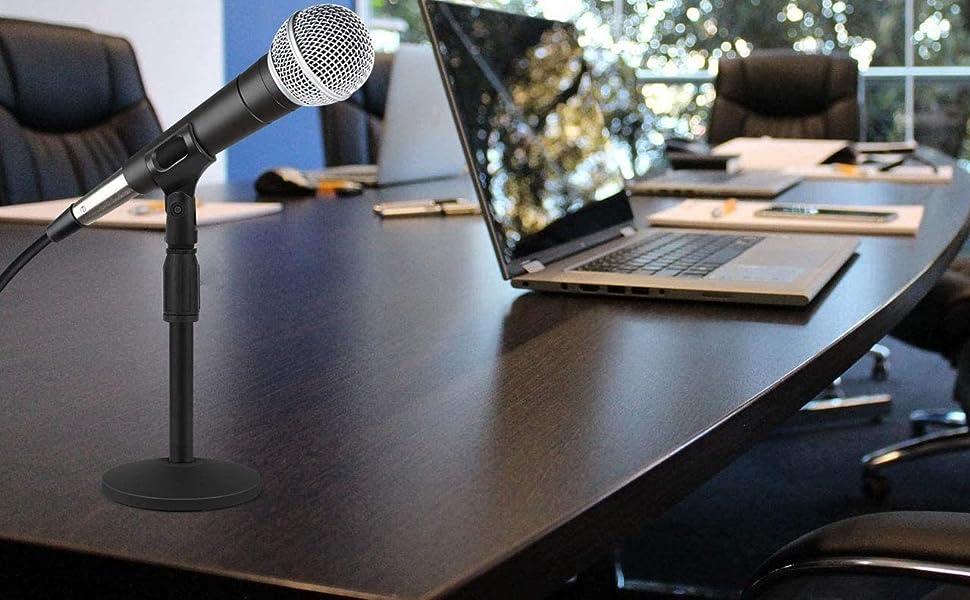 Elegant Microphone Stand