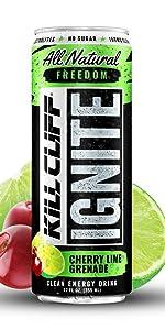Kill Cliff Ignite Cherry Limeade