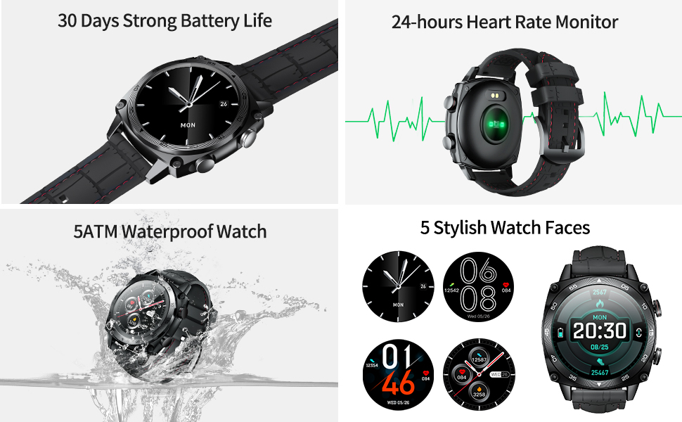 smart watch men android Watch accurate fitness tracker Female Health Tracker Stylish Sport Watch