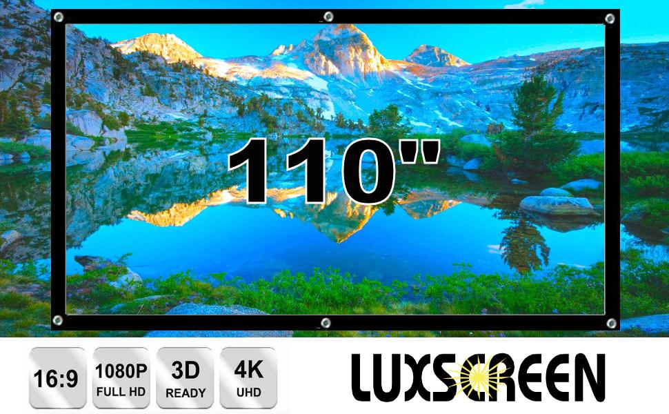 """tela de proyeccion 150"""", pantalla de proyeccion, pantalla para proyector, pantalla portatil, 4k, 3d"""
