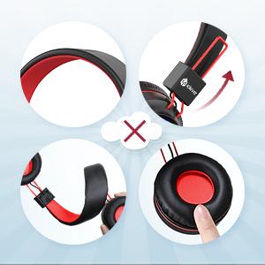 kids headphones with microphone kids wireless headphones for kids bluetooth headphones school boys