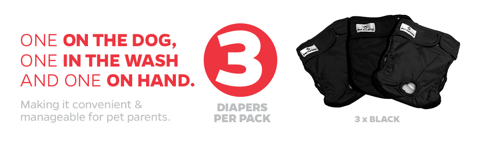 dog diapers male