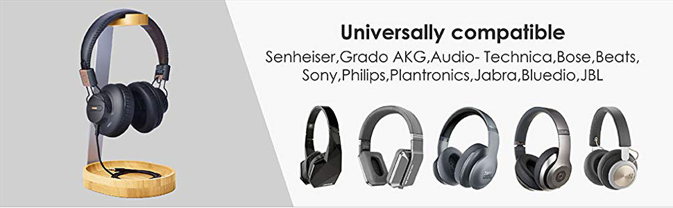 universal headphone stand for bose sony avantree and more headphones
