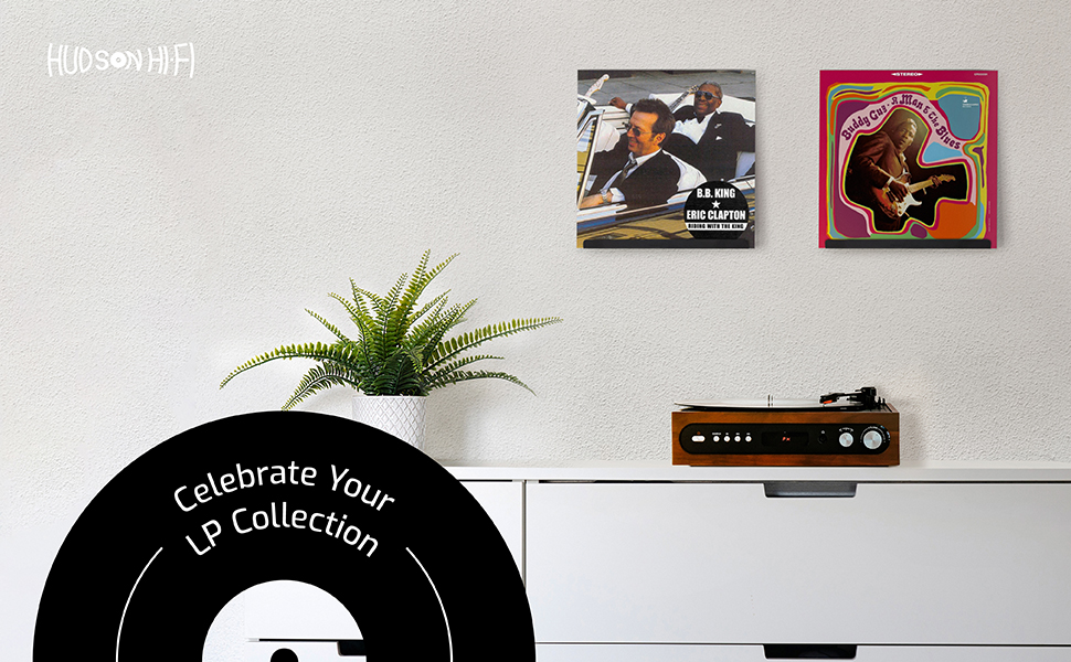 record frame vinyl album air wall mount shelves display floating metal double cover shelf playing