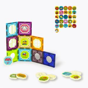 3D Magnetic Tiles Blocks for Kids Ages 4-8-12