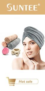 hair towel wrap