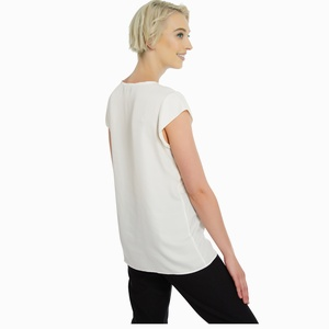 Binghang Womens Casual Solid T-Shirt Batwing Sleeve Tunic Tops with Pockets