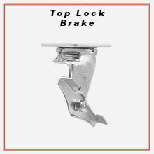 Service Caster, Top Lock Brake