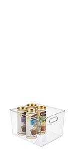 Tall Plastic Kitchen Pantry Cabinet, Refrigerator or Freezer Handle Fruit Yogurt Snack Pasta