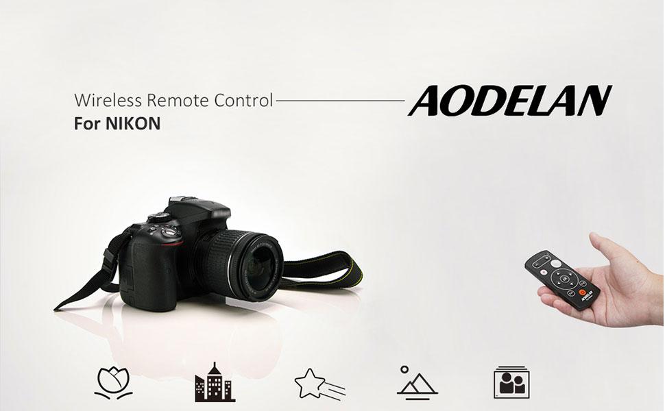 Nikon P1000 Z50 Camera Remote Control D3400 P950 b600 A1000 Shutter Release