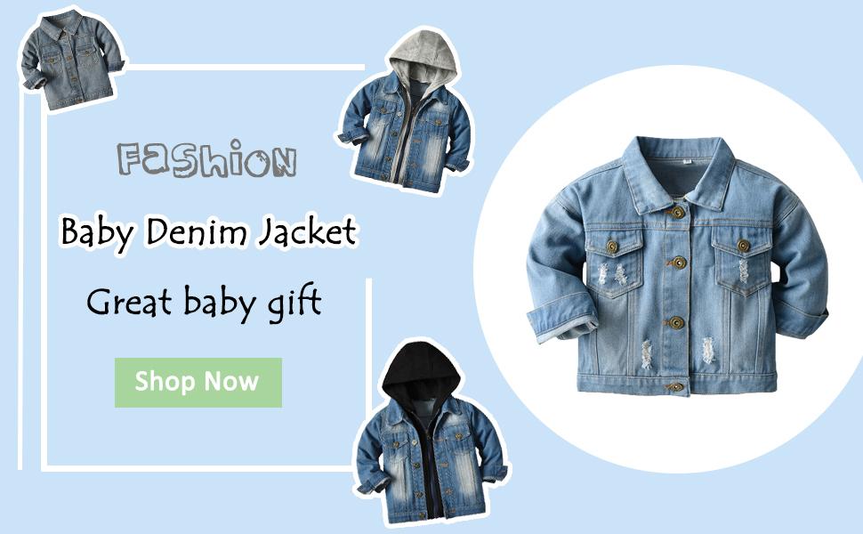 baby jean coat