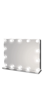Waneway Lighted Vanity Mirror, Standard