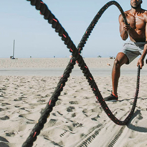 9M 12M Battle Ropes, Battling Rope for Fitness Training Gym, Heavy Exercise Ropes 38mm