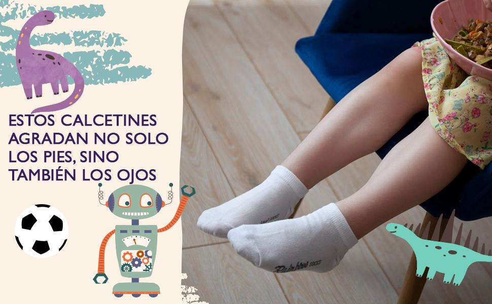 Estos calcetines agradan no solo los pies, sino también los ojos