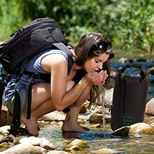 dry bag water camping hiking outdoors kayaking waterproof dry