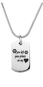 Urn Necklace for Pet