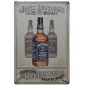 Large 30x40 cm Jack Daniels Tin SignRetro metal plaque for Pub Bar Man cave