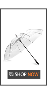62 Inch Clear Golf Umbrella