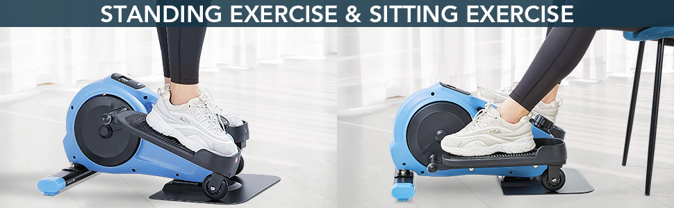 standing exercise and sitting exercise