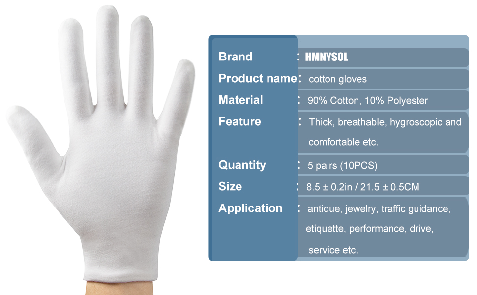 Basic information about cotton gloves