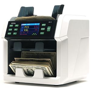 MV1 Cash Counter Counterfeit Detection