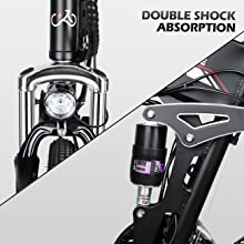 double shock absorption