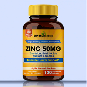zinc 50mg Immune Support
