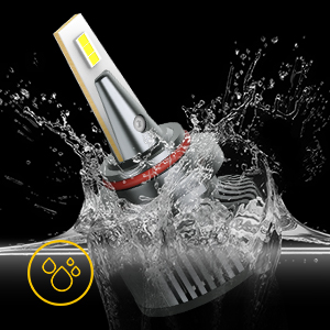 waterproof hir2 9012 led headlight bulbs