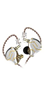 sport iem wired earbud kz iem hifi headphones hifi headset wired headphone wired headset wired iem