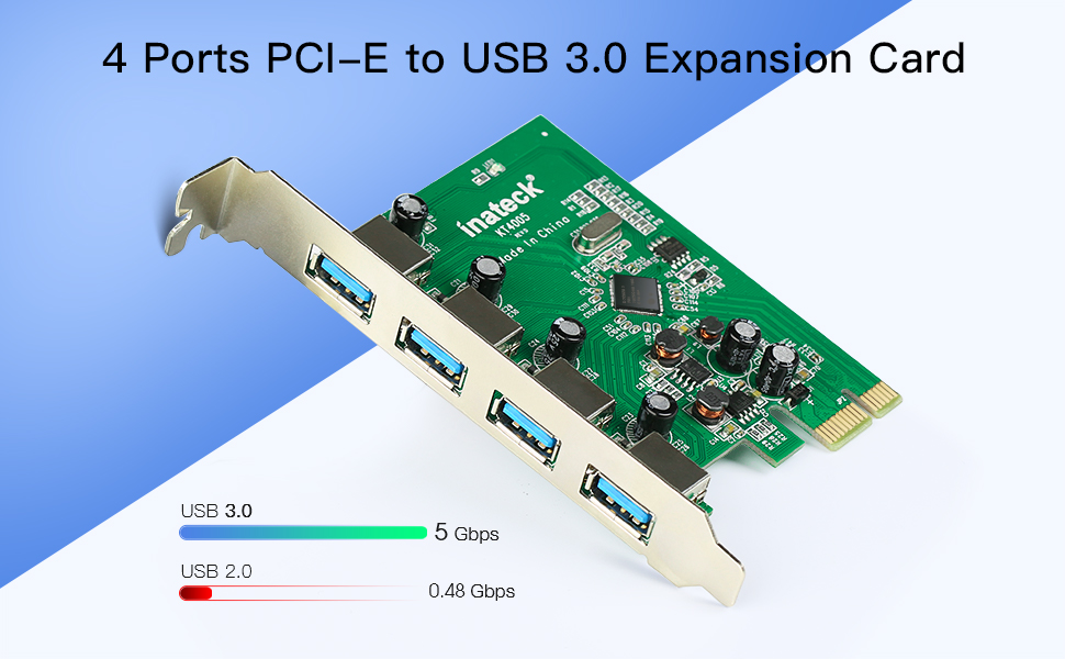 pcie to usb 3.0 card
