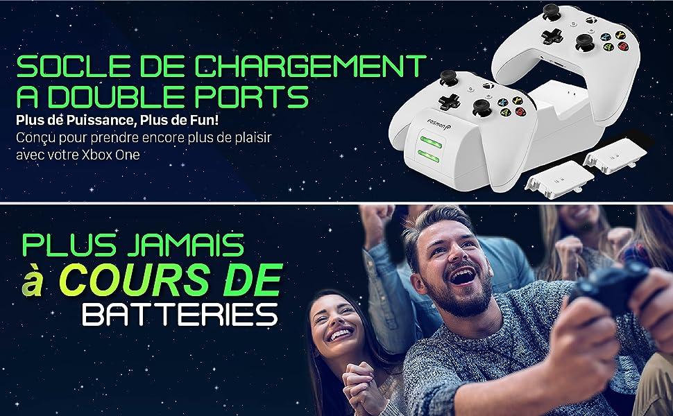 Chargeur pour manette Xbox One X ou Xbox One S et Pro