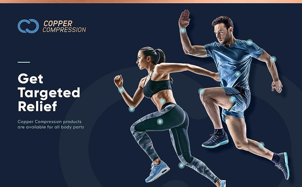 Amazon.com: Codera de recuperación Copper Compression, con alto contenido de  cobre, ¡el cobre de más alta calidad! para usar en cualquier parte, S,  Negro, 1: Health & Personal Care