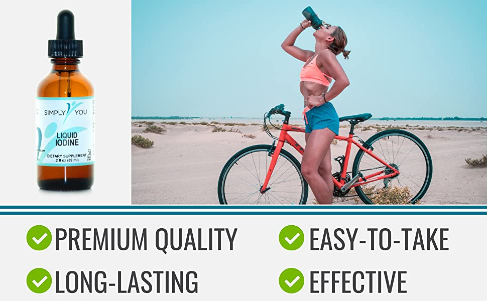 Simply You iodine supplement health nutrition natural organic vegan body feel best energy thyroid