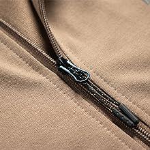 long sleeves hooded jacket and adjustable drawstring pant.
