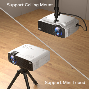 Support Ceiling and Tripod mount