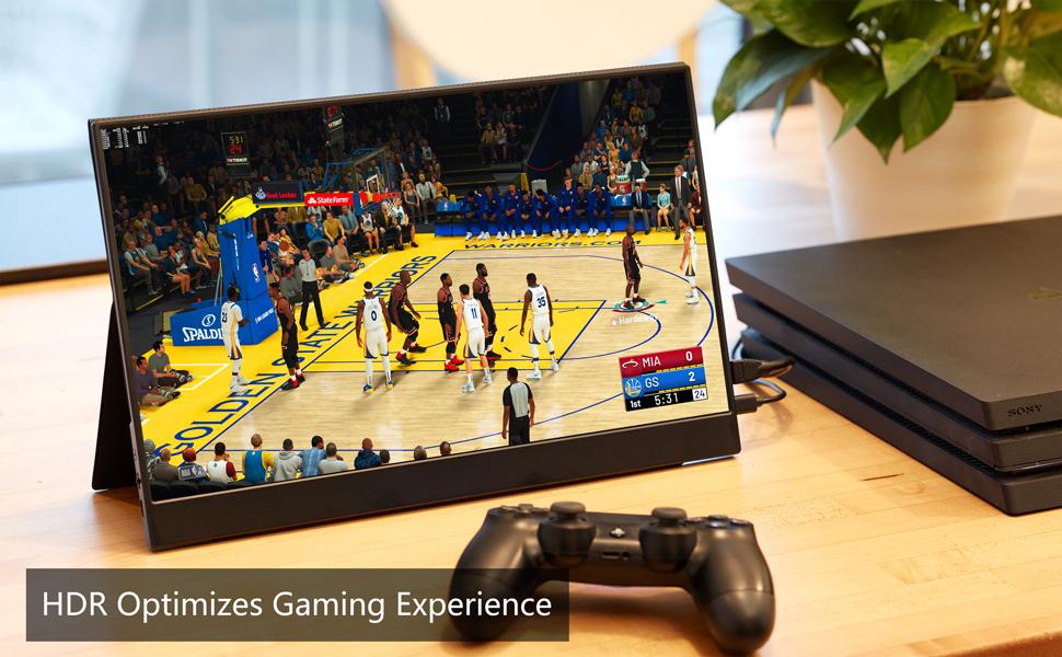 15.6 portable monitor gaming monitor usb type c monitor USB-C monitor Full HD monitor for laptop  Portable Monitor – Cocopar Portable Display with HDMI Port (Black) 6dffb05c a160 417c 94c2 cfc75a3d3c54