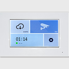 Working with GBF wifi IP indoor monitor wirelessly