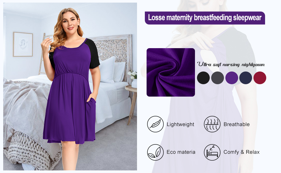 women's nightgowns & sleepshirts