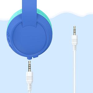 kids headphones with microphone for school