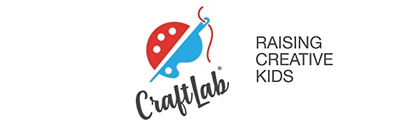 kids craft kits, kids sewing kit, craftlab, craft kits for ages 8 to 12