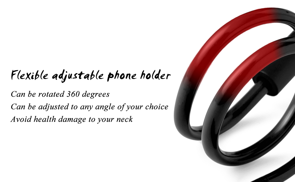 Cell Phone Holder Neck Phone Holder for Mobile Phone Stand Bed Arm Stand Lazy Bracket for iPhone