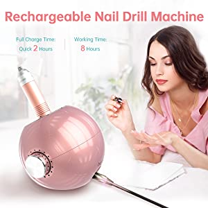 rechargeable nail drill 2