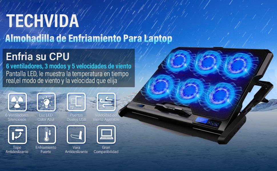 Pad enfriador para laptops