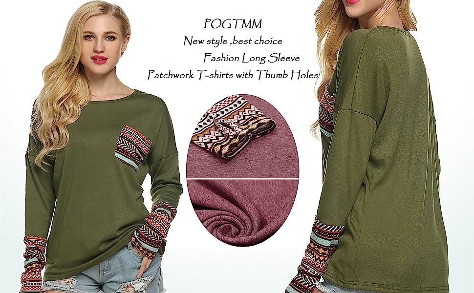 POGTMM women long sleeve t-shirts