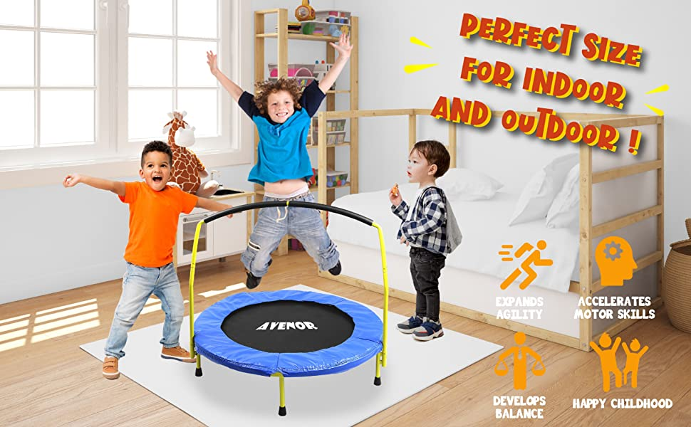 indoor/outdoor trampoline