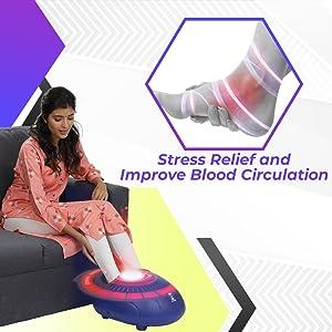 stress relief foot massage