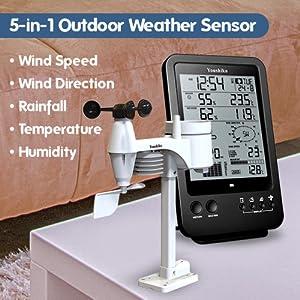 5-in-1 Outdoor Weather Sensor