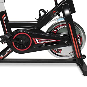 dolphy Exercise fitness Spinning Indoor Cycling , Smooth & Quiet Stationary Bike